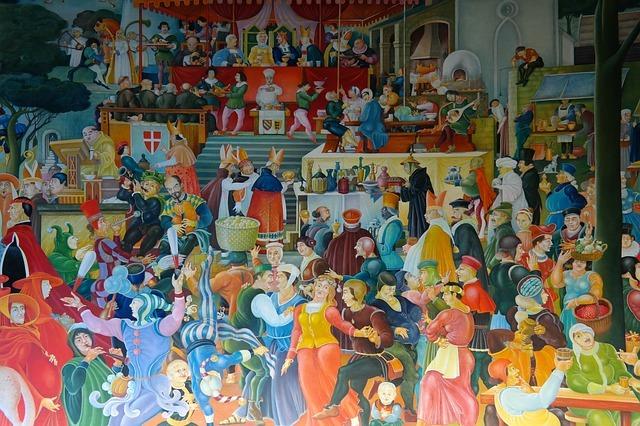 Staufer-Rundbild im Kloster Lorch