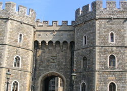 Tor von Windsor Castle