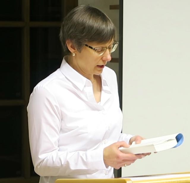 """Birgit Constant liest aus Ihrem historischen Roman """"Das bretonische Mädchen"""" in der Stadtbibliothek Landshut"""