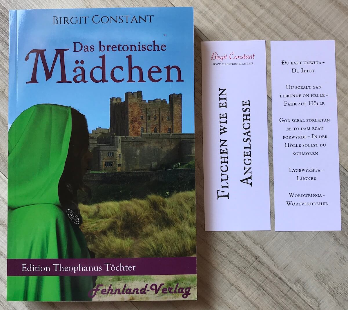 Das bretonische Mädchen – Taschenbuch mit Lesezeichen
