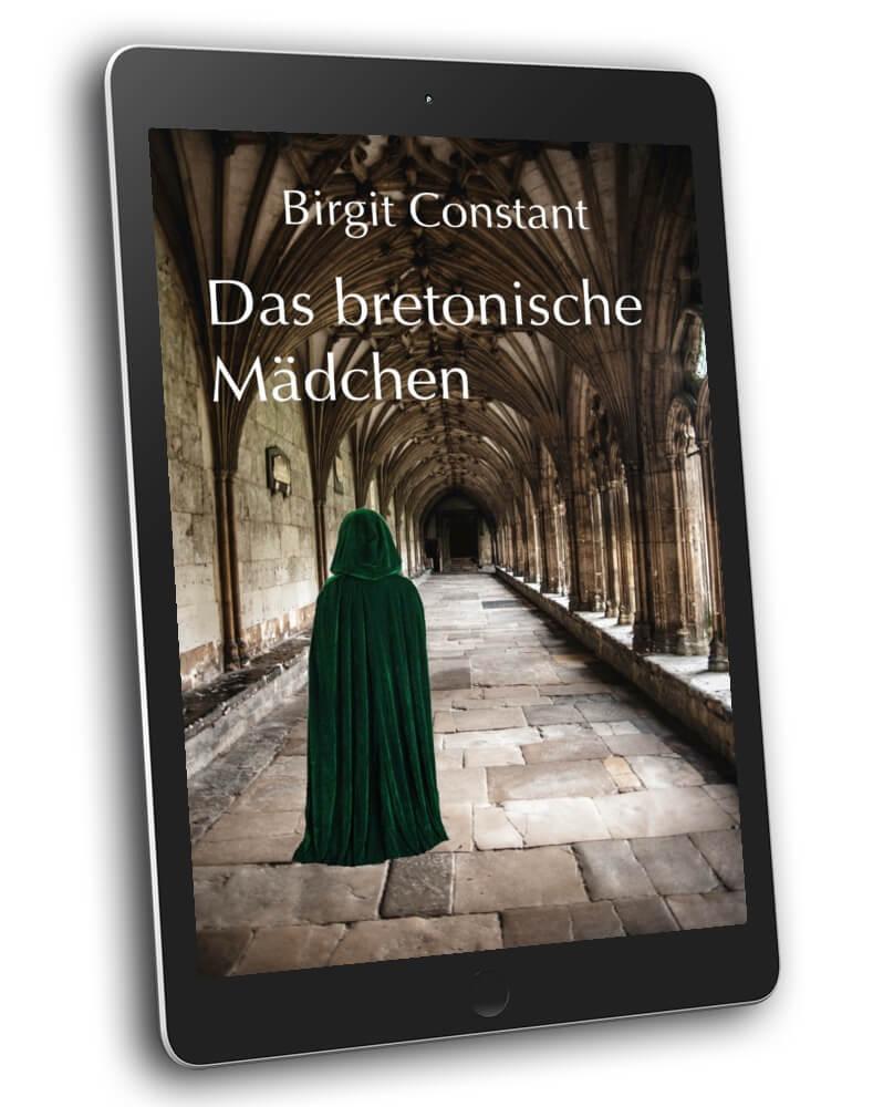 3D-Mockup von Birgit Constant: Das bretonische Mädchen (neues E-Book-Cover)