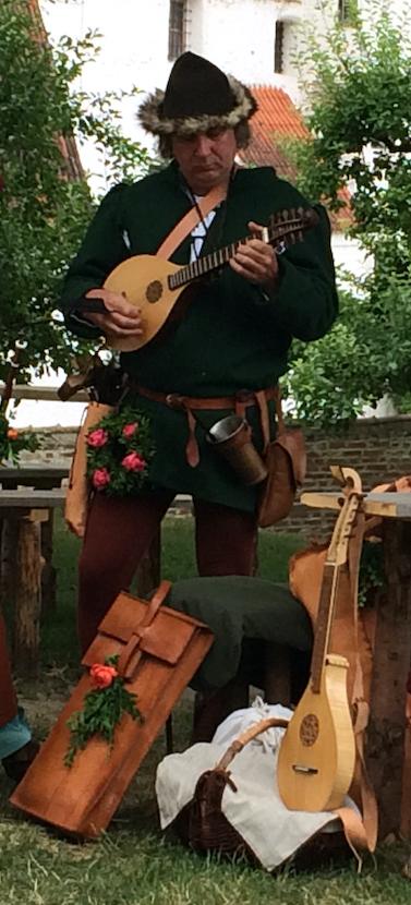 Spielmann bei der Landshuter Hochzeit 2017