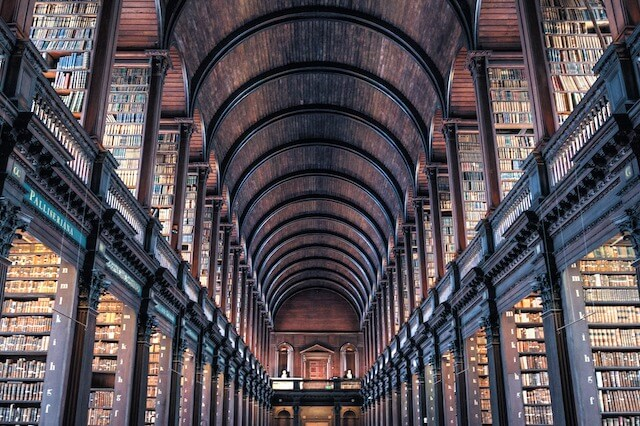 Dublin Trinity College (Image by Rudy and Peter Skitterians from Pixabay)