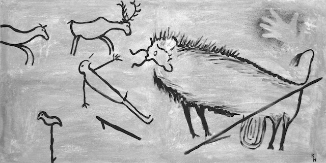 Höhlenmalerei (Lascaux) (Image by Klaus Hausmann from Pixabay)